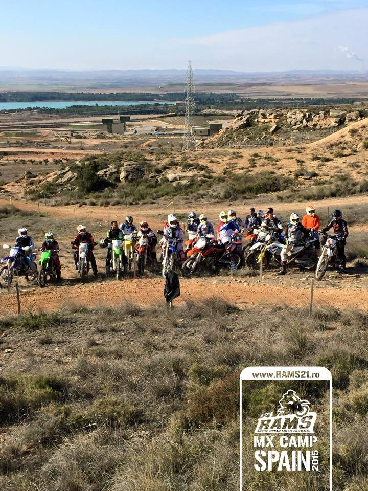 RAMS MX CAMP SPAIN 2015